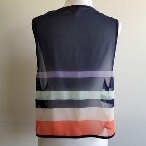 Ted Baker London Tops - Ted Baker London Colorblock Sheer Crop Top